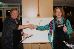 Ingrid Hut en  Hellen Snoek