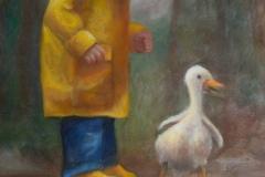 Annemiek Berkhouwer -  Jongen en eend